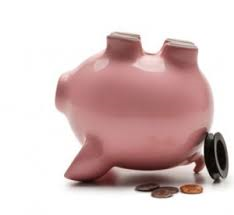 Empty Piggy Bank